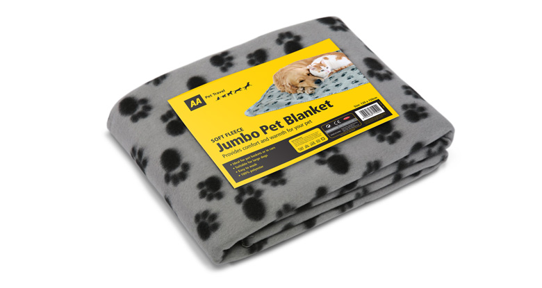 AA Pet Travel. Branded Packaging