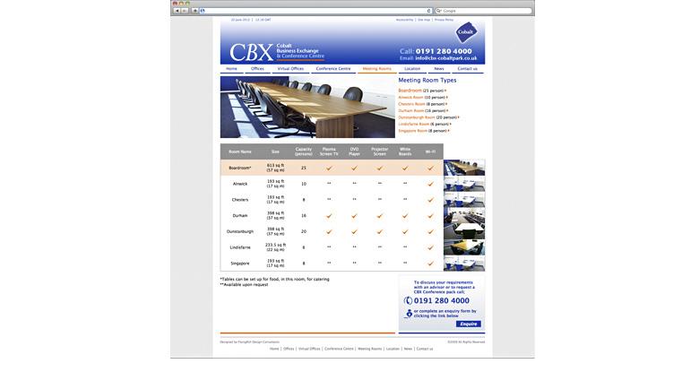 CBX. Corporate website