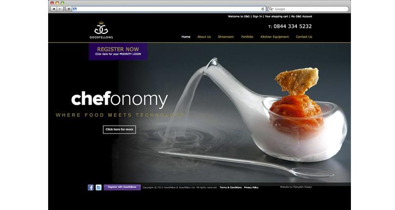Goodfellow & Goodfellow. E commerce website