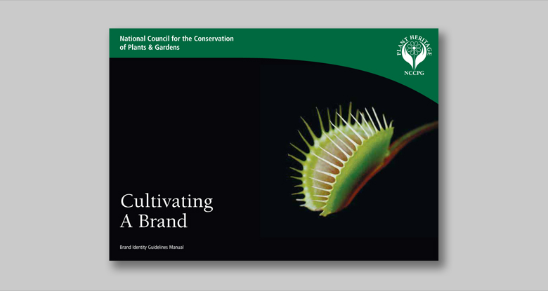 Plant Heritage. Brand Identity