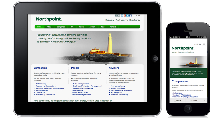 Northpoint. Corporate Website